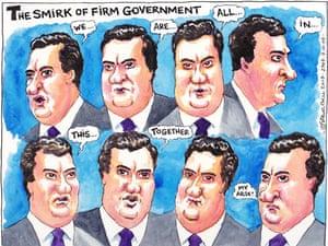 07.10.09: Steve Bell on George Osborne speech