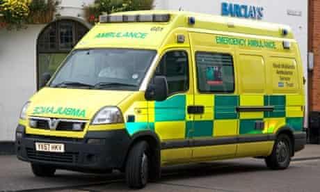 Ambulance, Tory Britain