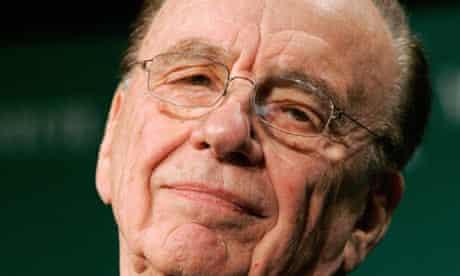 Media mogul, Rupert Murdoch
