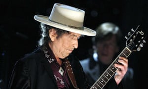 Bob Dylan performs in June 2009