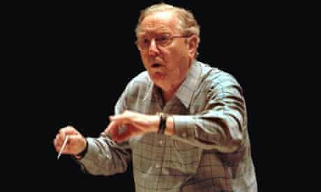 Conductor Sir Charles Mackerras