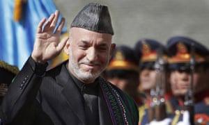 Hamid Karzai inauguration