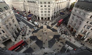Europe's largest diagonal crossing is launched ay Oxford Circus