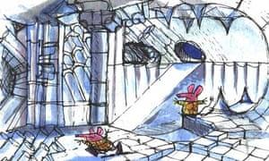 Clangers original drawing