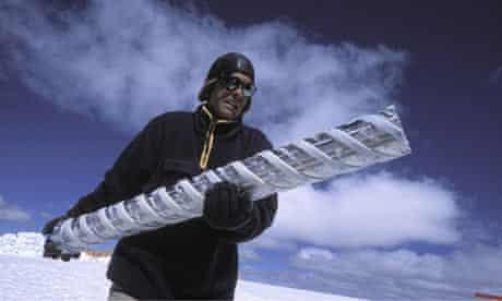 ice drill peru