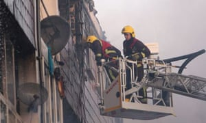 150 People Forced Out Of Their Homes In Peckham Fire