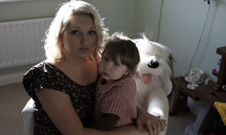 Amy Callaghan and daughter Tegan