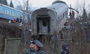 Russia train crash