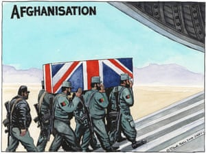 05.11.09: Steve Bell on death of British troops in Afghanistan