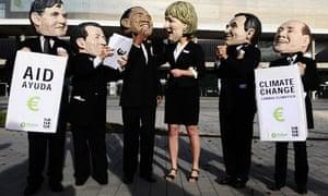barcelona climate change masks oxfam