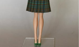 A Barbie doll from the 50s is pictured in Duesseldorf