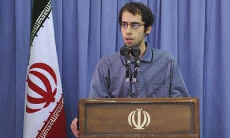 Mahmoud Vahidnia, Iran student