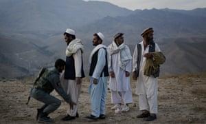 Afghanistan: police check