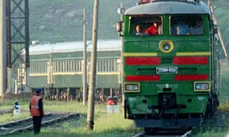 kim jong-il train
