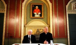 Catholic Archbishop of Westminster and Deacon Jack Sullivan