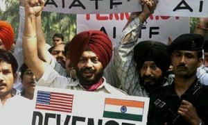 Indian demonstration against Jaish-e-Muhammad
