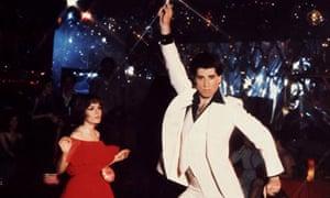 John Travolta in Saturday Night Fever, 1977