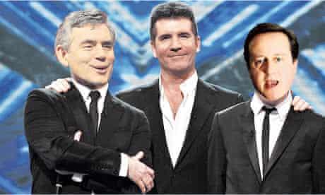 Simon Cowell Political X Factor