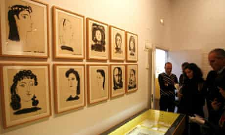 The Picasso aquatints on display in Madrid