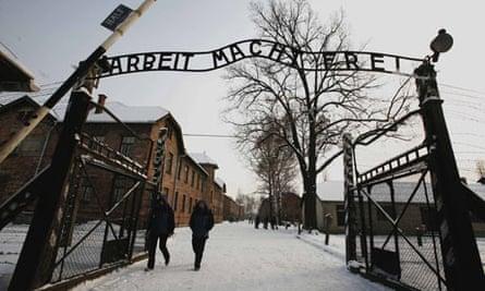 Arbeit Macht Frei sign at Auschwitz