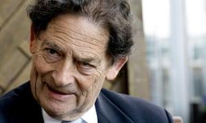 Ex-chancellor Nigel Lawson