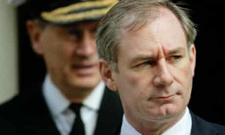 Geoff Hoon and Admiral Lord Boyce