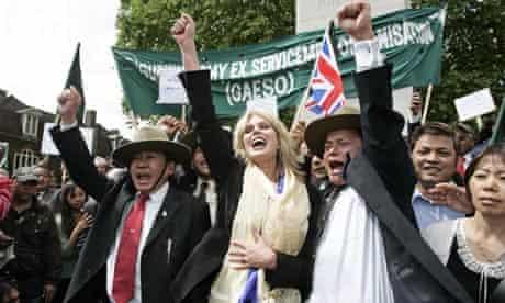 Gurkhas Celebrate Right To Apply For Settlement In The UK