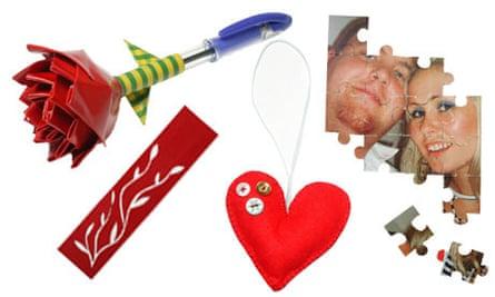 Homemade Valentine's Day presents