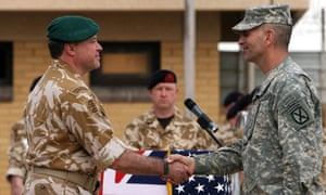 Britain hands over command in Basra to US