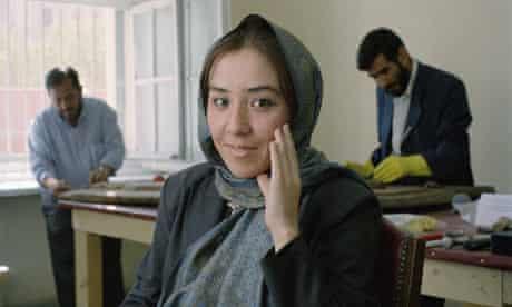 Qudsia Zohab photographed by Louis Quail