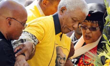 Nelson Mandela, Winnie, Jacob Zuma