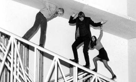 Robert Morris installation at Tate Gallery in 1971
