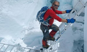 Sir Ranulph Fiennes expedition in 2008
