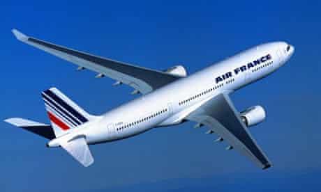 An Air France Airbus A330-200