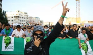 Unrest Iranian Presidential Elections