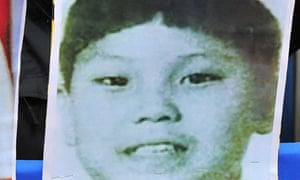 Korea: A picture believed to be of Kim Jong-il's youngest son Kim Jong-un
