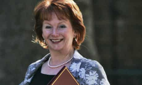 Hazel Blears arrives for a cabinet meeting at 10 Downing Street