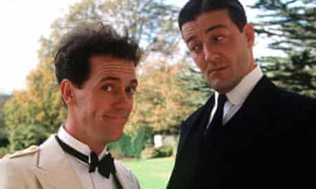 Hugh Laurie and Stephen Fry in 'Jeeves and Wooster'
