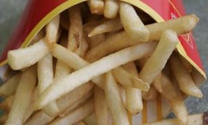 fries, chips, mcdonald's