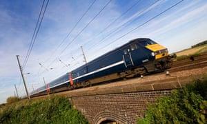 National Express high speed train