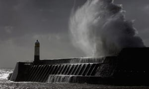 Rain And High Winds Battering The UK