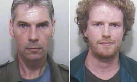 Hate crime duo: Simon Sheppard and Stephen Whittle