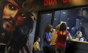 A cinema in  Nablus