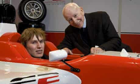 John Surtees with his son Henry