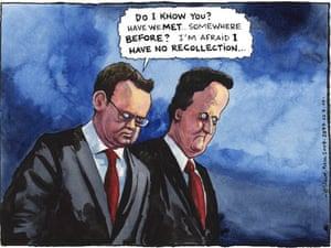 22.07.09: Steve Bell on Tory spin doctor