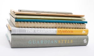Guardian style guide