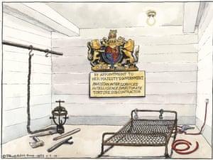 09.07.09: Steve Bell on torture allegations