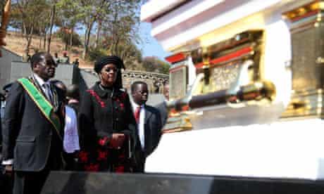 Robert Mugabe, Grace Mugabe