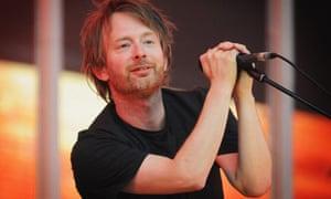 Radiohead Perfom At Victoria Park In London