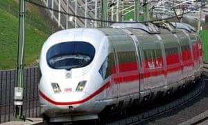 """A German Ice train"""